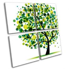 Abstract Tree Illustration - 13-1857(00B)-MP01-LO